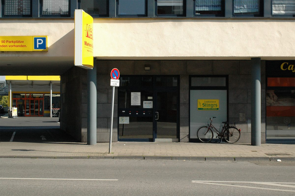 Faktum Standort auf der Friedrich-Ebert-Straße 148 in Mönchengladbach-Rheydt