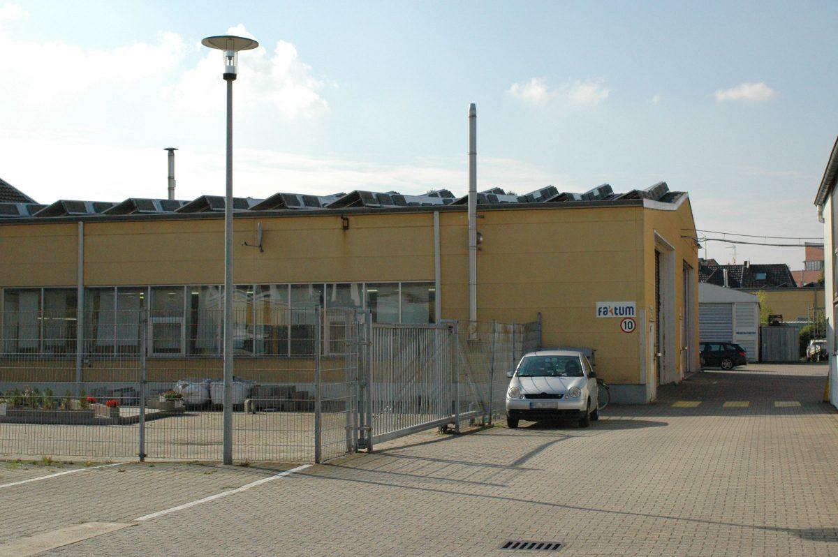 Faktum Standort auf der Ottostraße 2–4 in Mönchengladbach-Rheydt