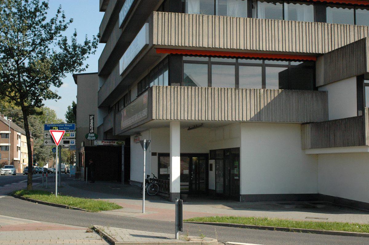 Faktum Standort auf der Mühlenstraße 2–4 in Mönchengladbach-Rheydt