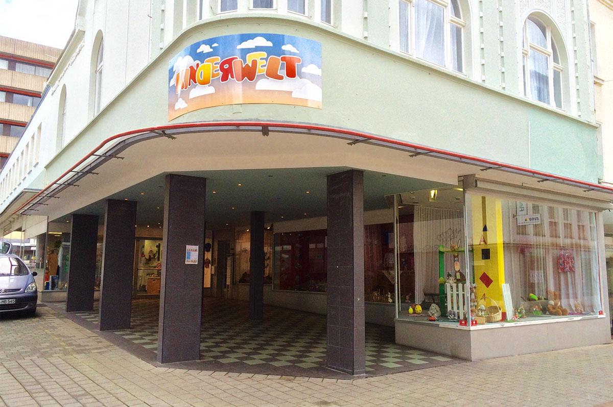 Faktum Kinderwelt auf der Hauptstraße 7–9 in Mönchengladbach-Rheydt